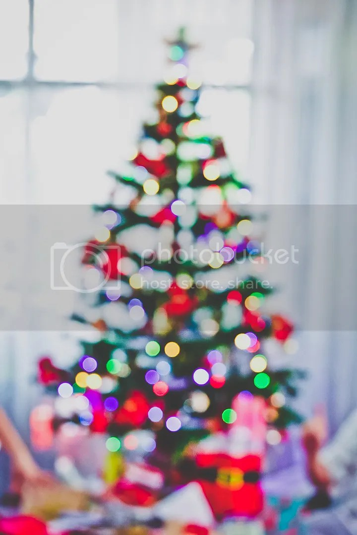 Christmas Tree Bokeh