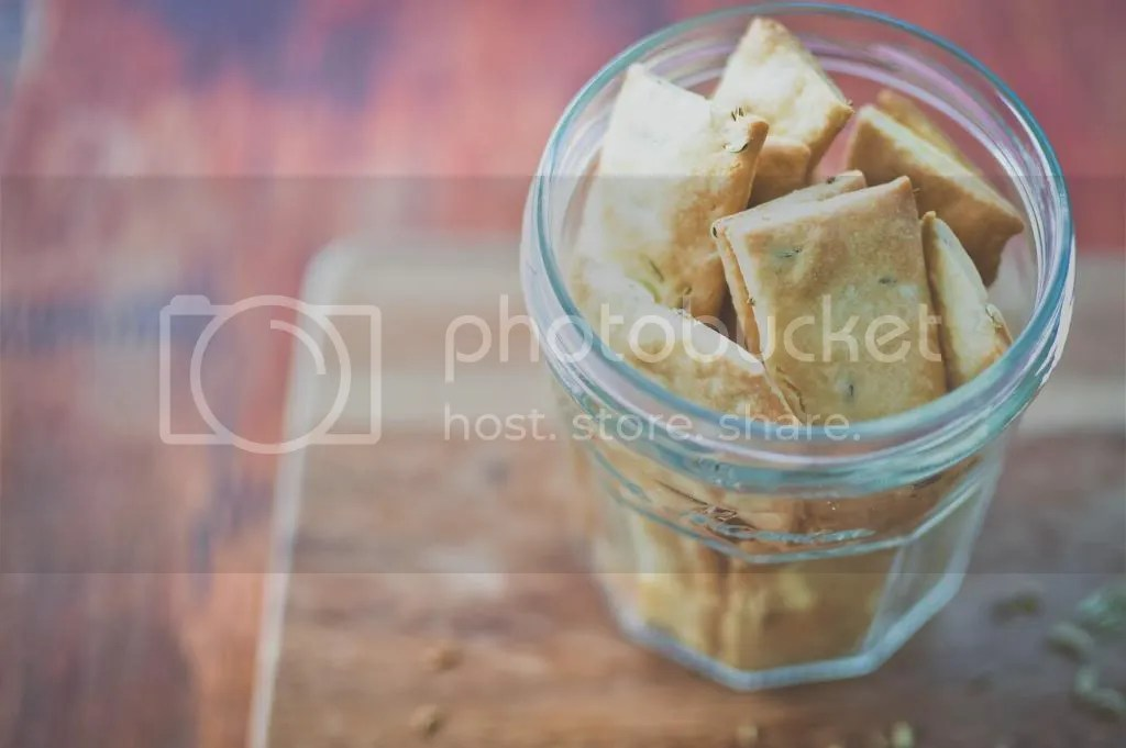 Fennel Seed Crackers