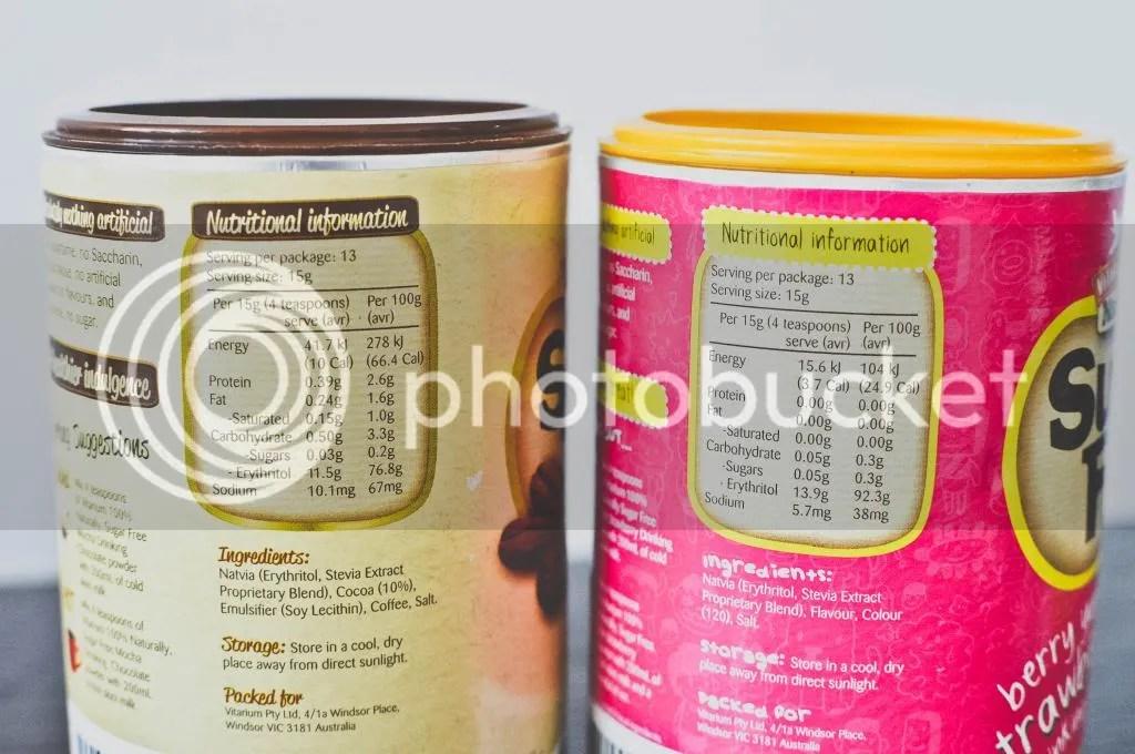 Vitarium Mocha & Strawberry Nutrition
