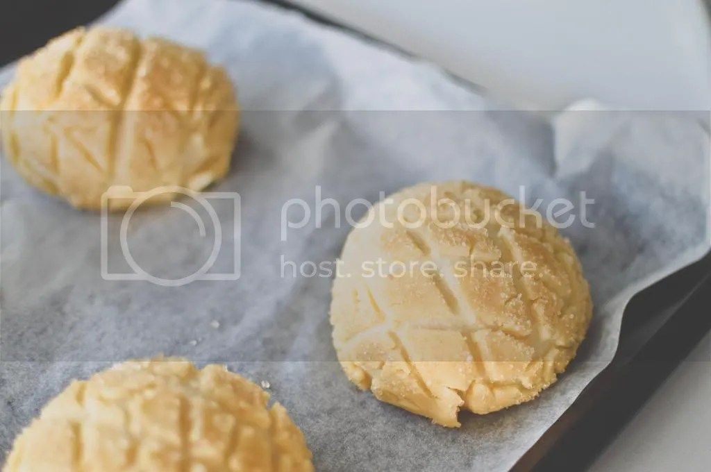 Unbaked Melonpan