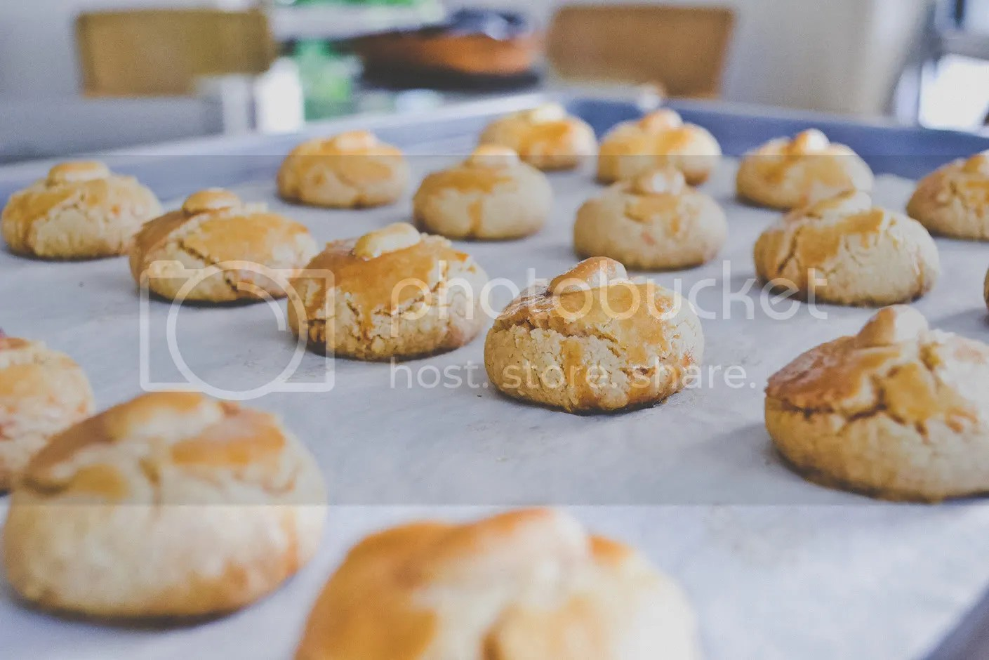 Peanut Cookies for Chinese New Year