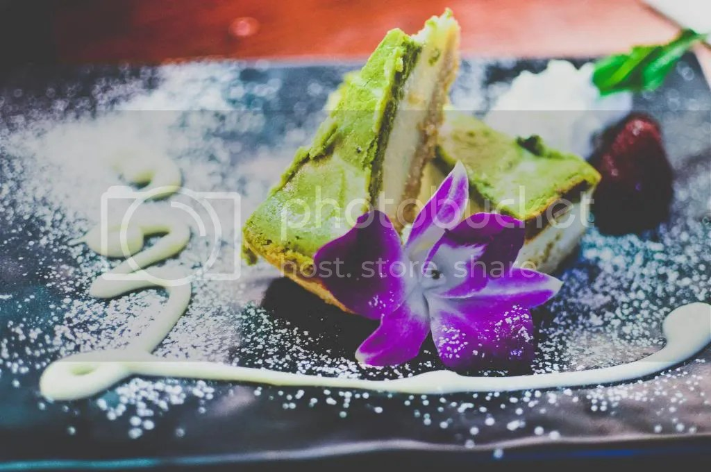 Kyoto Style Green Tea Cheesecake