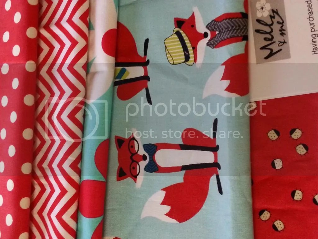 Fox fabric for purse
