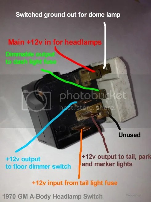 Headlamps Use This Diagram With Your Extra Switch In The Orange Wire