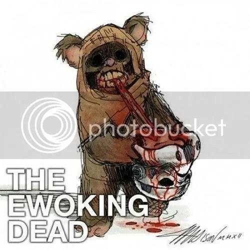 Ewoking Dead