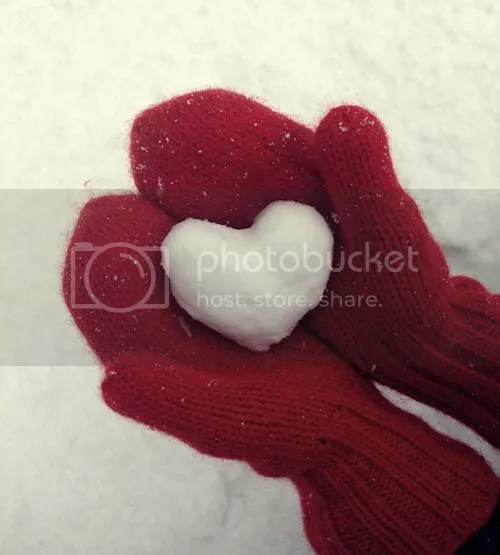 Heart-shaped Snow