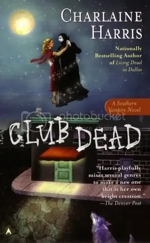Club Dead by Charlaine Harris Cover - Review