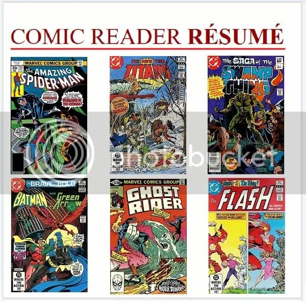 Comic Reader Résumé – Rolled Spine Podcasts