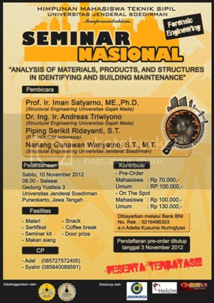 Seminar Nasional Forensic Engineering