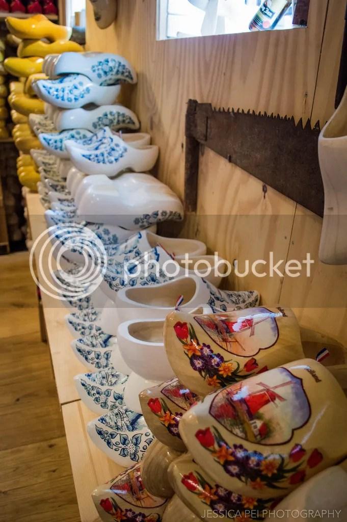 wooden clogs dutch amsterdam