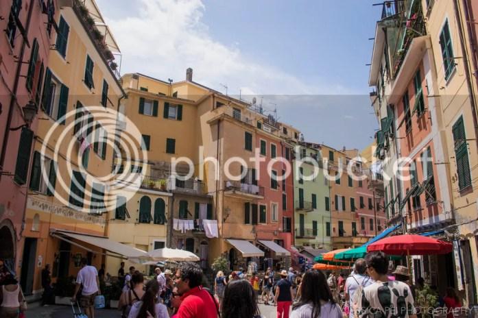 Vernazza Cinque Terre buildings