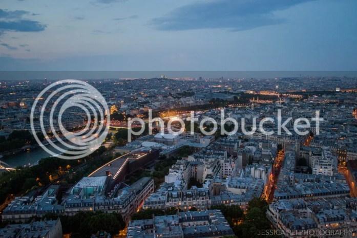 Paris Eiffel Tower night view