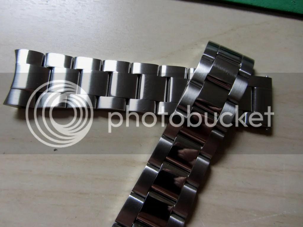 Cepillar relojes de acero