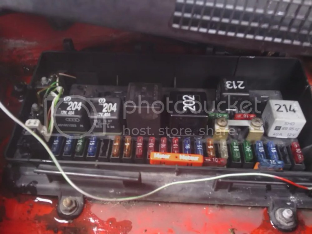 medium resolution of audi 80 fuse box location