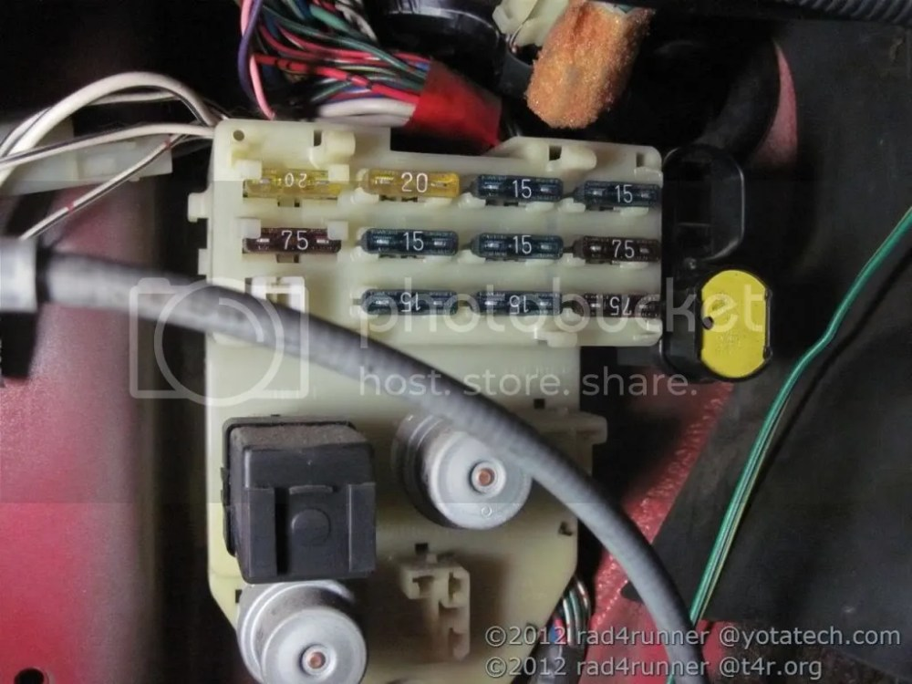 medium resolution of 85 4runner fuse box wiring diagrams img rh 15 andreas bolz de 88 toyota 4runner 90 4runner