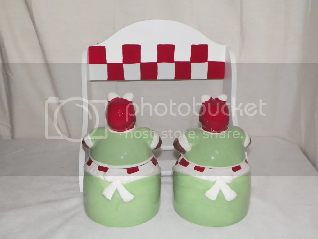 aunt jemima kitchen curtains franke sinks new 3pc cook canister set cookie jar