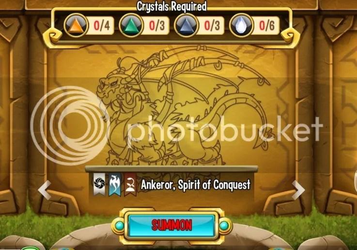 Dragon City Ankeror Dragon Anceint World