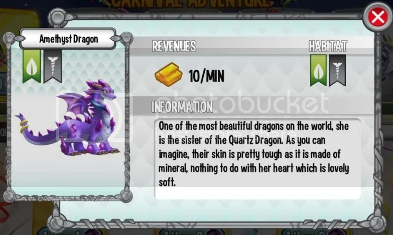 Amethyst Dragon Carnival Adventure