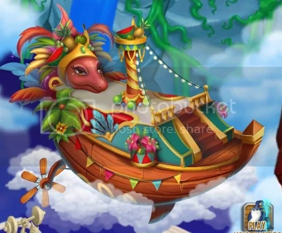 Canival Island on Dragon City