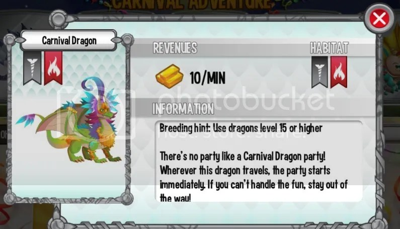 Carnival Dragon Carnival Adventure