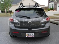 SKi roof rack for Skyactive Mazda 3