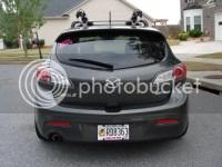 SKi roof rack for Skyactive Mazda 3