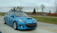 Pics of with roof racks - Mazdaspeed Forums
