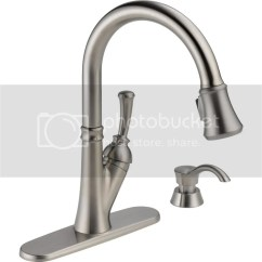 Delta Savile Stainless 1 Handle Pull Down Kitchen Faucet High End Faucets Reviews The Shoppers Guide