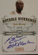 2009-10 Panini National Treasures Kobe