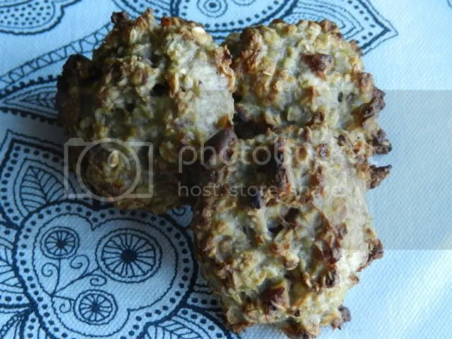 Banana & Oat Cookies