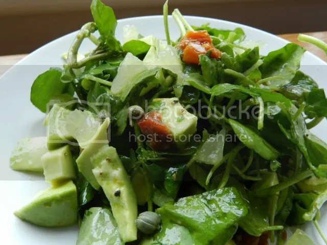 watercress, avocado, lemon salad photo DSCN0917_zpsf0fd126c.jpg