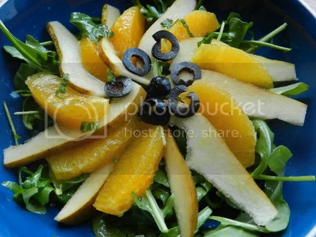 Pear, orange and rocket salad photo DSCN1655_zps86124030.jpg