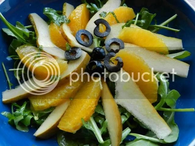 Pear, orange and rocket salad photo DSCN1655_zps86124030.jpg