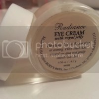 Burt's Bees Radiance Eye Cream Review