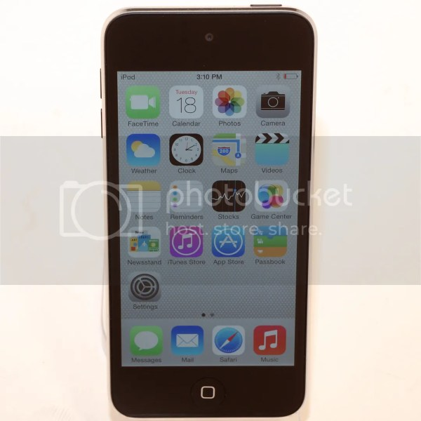 Apple Ipod Touch 5th Generation 16gb Black Silver Ios 7 1 Media Player