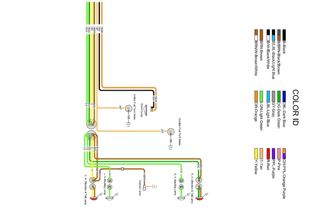 1964 chevy truck color wiring diagram c tec conventional fire alarm gmc brake light great installation of i need some tail help please the 1947 present rh 67 72chevytrucks com 2005 silverado 2003