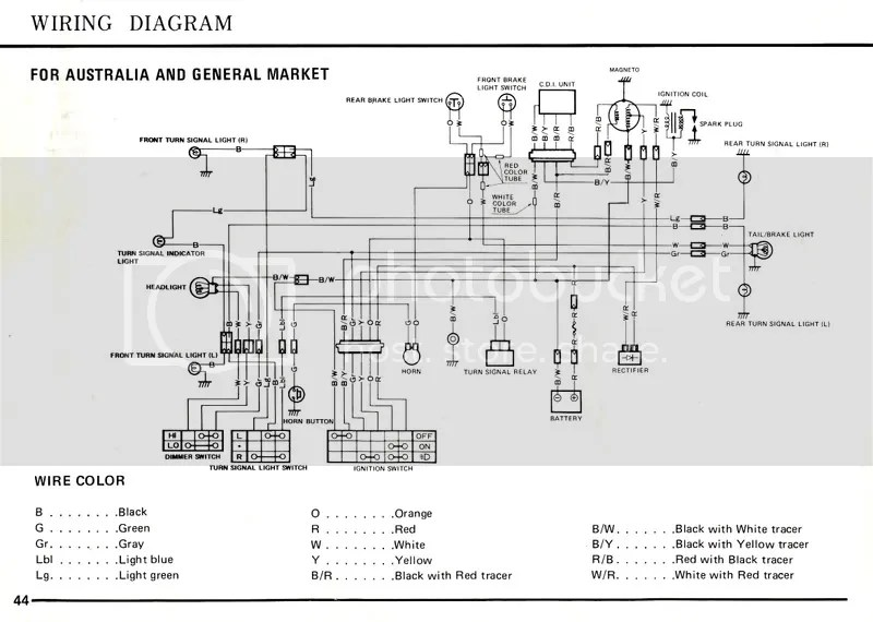50cc atv wiring diagram yamaha raptor 350 koblingsskjema suzuki fz50 - generelt mopedportalen