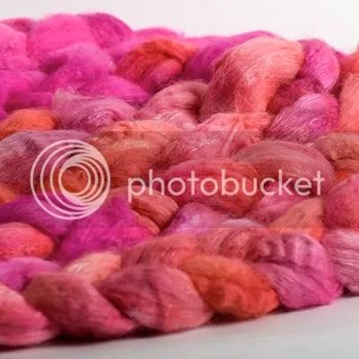 Merino Silk FIrey Pink