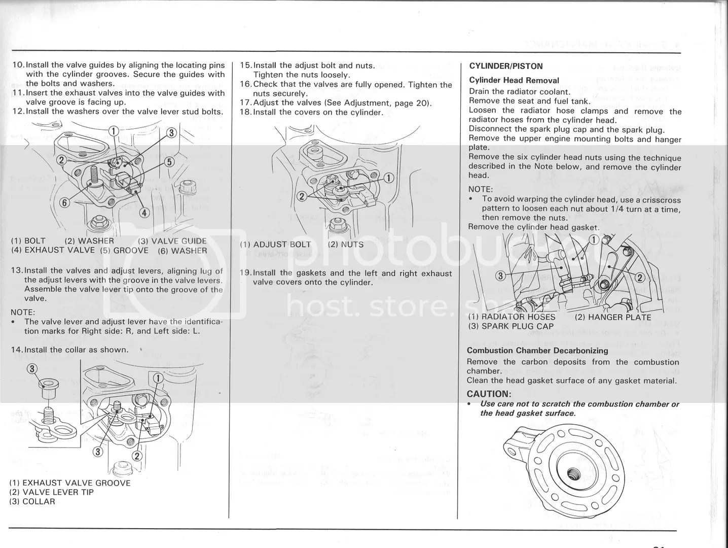 1988 Honda Cr250 Service Manual