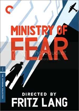 MINISTRY OF FEAR DVD