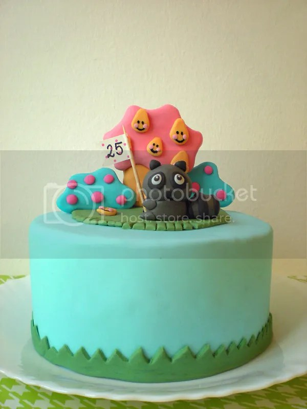 kawaii Geburtstagskuchen