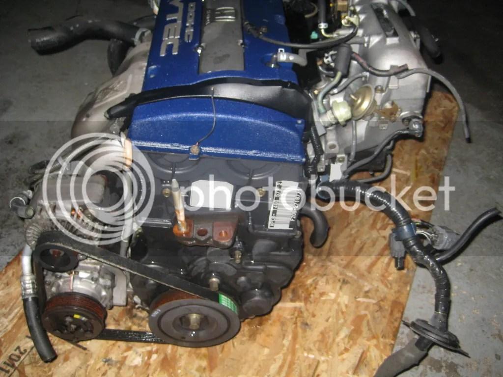 hight resolution of 97 01 honda accord sir prelude f20b 2 0l dohc vtec engine jdm f20b engine only