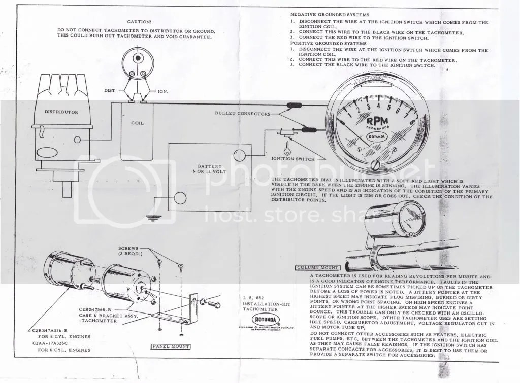 Ford Pertronix Negative Ground Wiring Diagram. Ford. Auto
