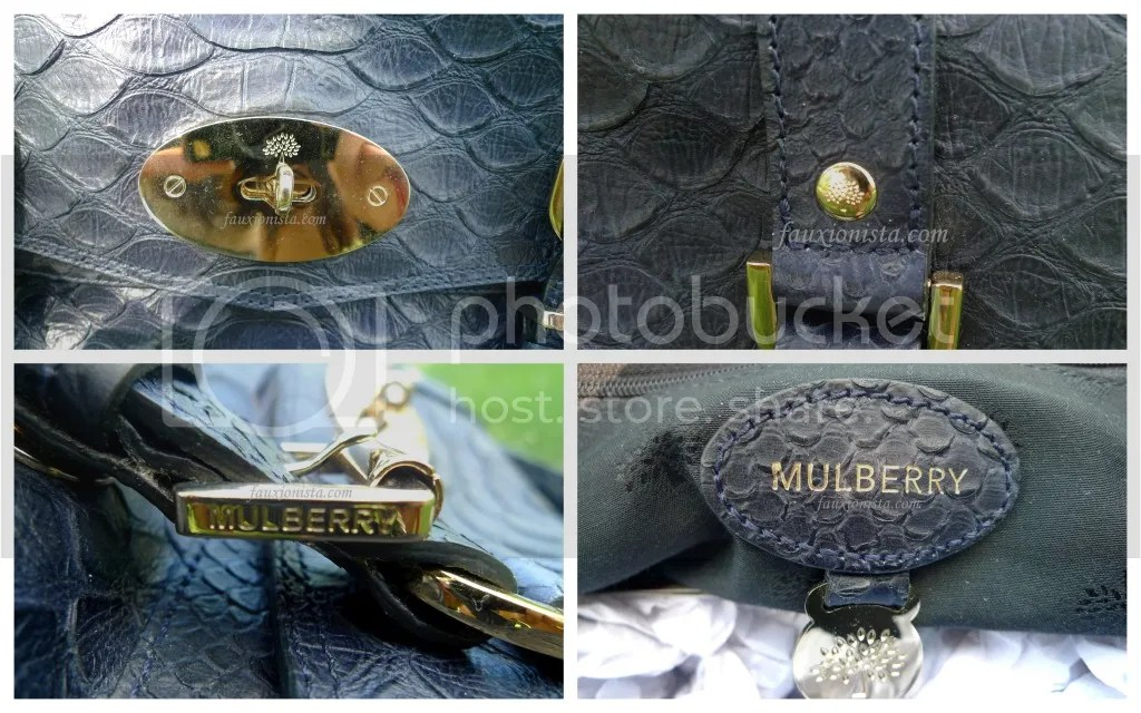 Mulberry Alexa Silky Snake Nightshade Details