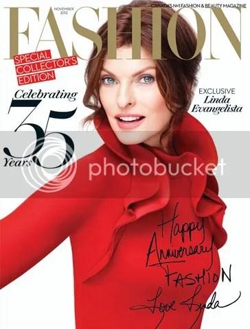 Fashion Magazine editorial Linda Evangelista shot by Pamela Hanson