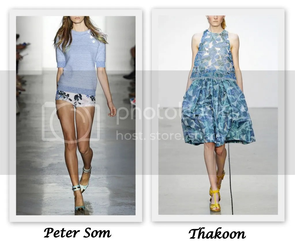 New York Fashion Week S/S 2013 Peter Som Thakoon