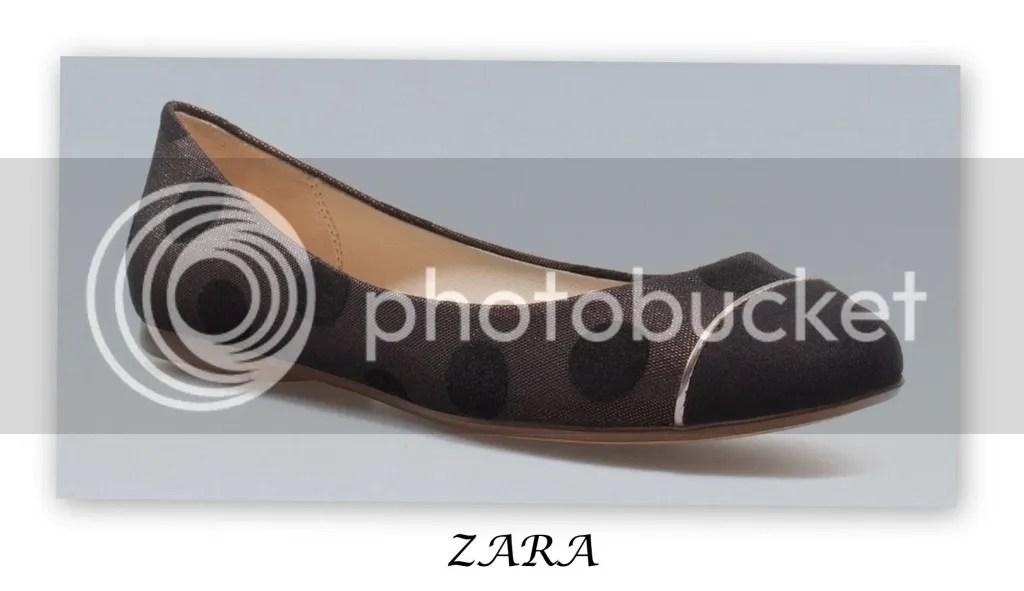 ZARA Polka Dot Flats
