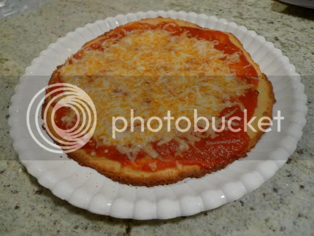 Paleo Personal Pan Pizza