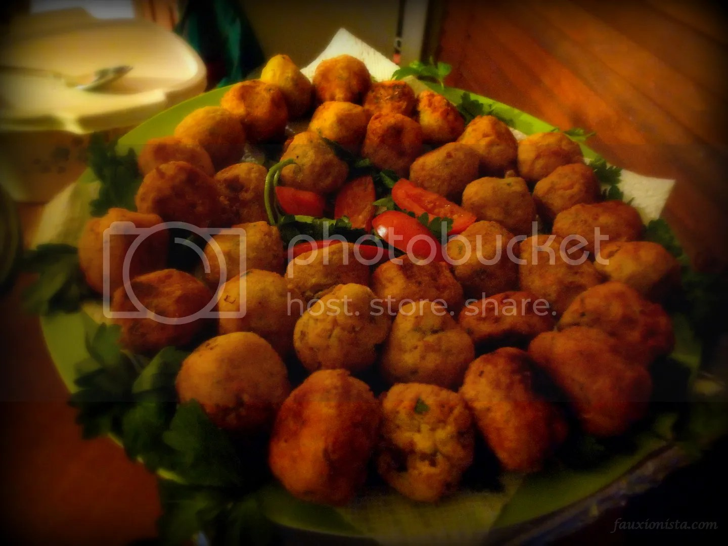 Thanksgiving Ghanaian Style - Yam Balls