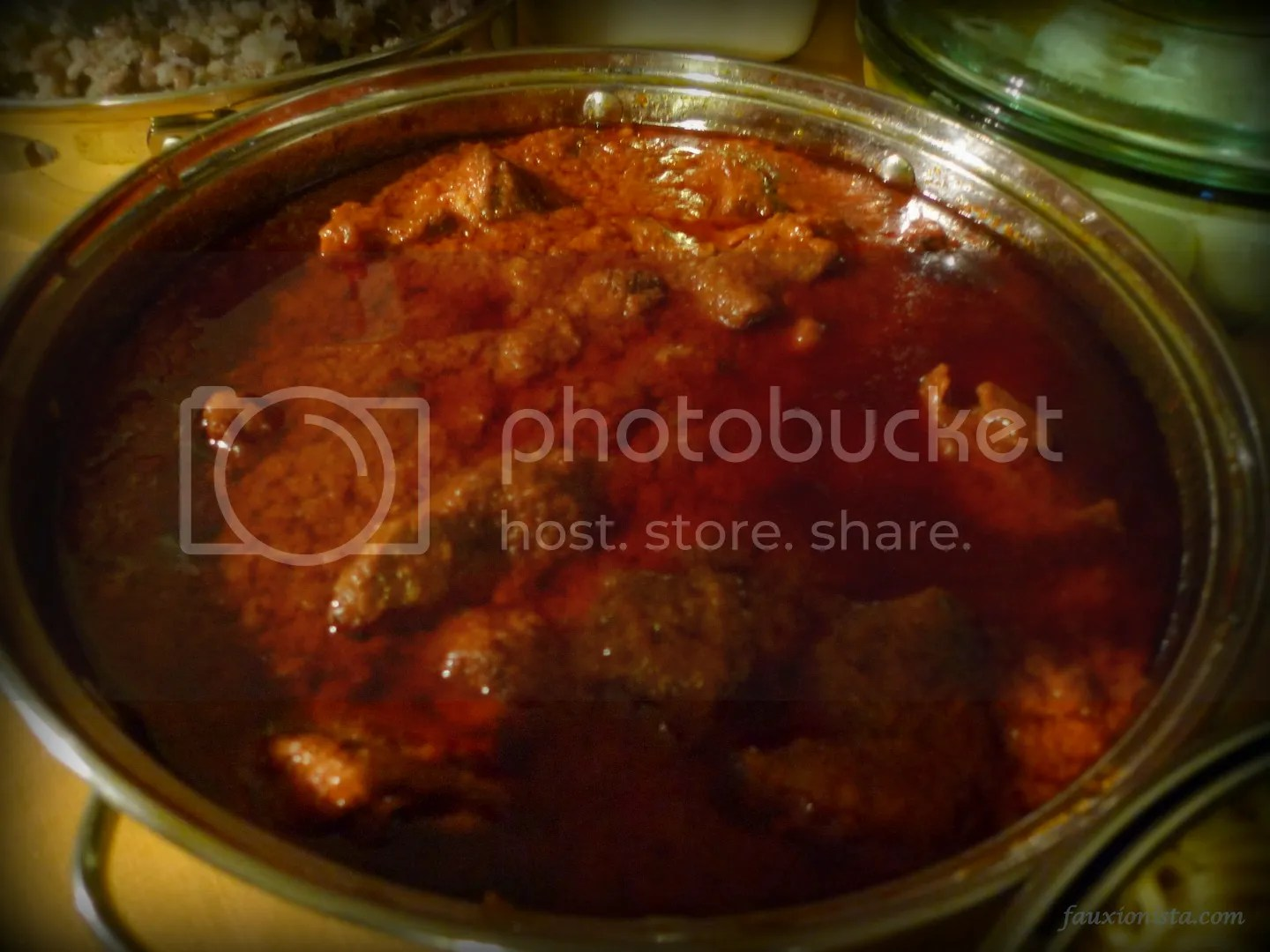 Thanksgiving Ghanaian Style - Beef Stew